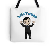 "Jim Moriarty ""Westwood"" T-Shirt Tote Bag"