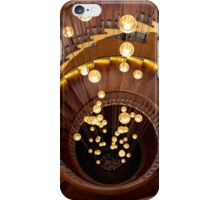 Light Descent - Spiral Stairs iPhone Case/Skin