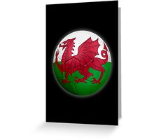 Wales - Welsh Flag - Football or Soccer 2 Greeting Card