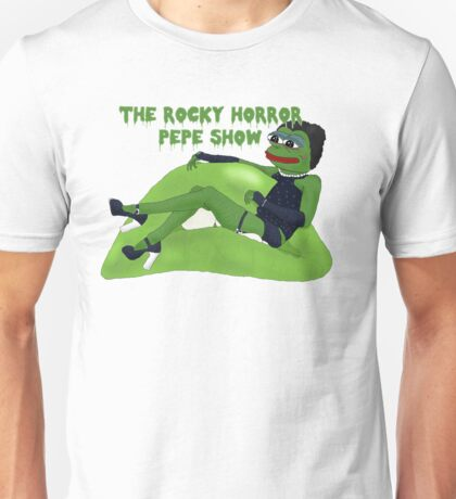 The Rocky Horror Pepe Show Unisex T-Shirt