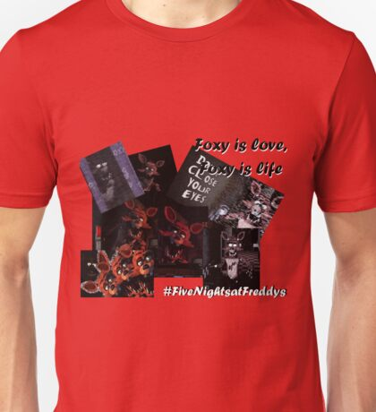Five Nights at Freddy's: Foxy is Love Unisex T-Shirt