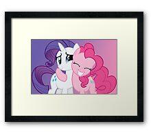 Pink Hug is Best Hug Framed Print