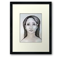 """""""Is that you?"""" Framed Print"""