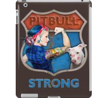 PitBull Strong iPad Case/Skin