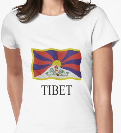 Tibet Womens Fitted T-Shirt