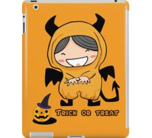Halloween Trick Or Treat iPad Case/Skin