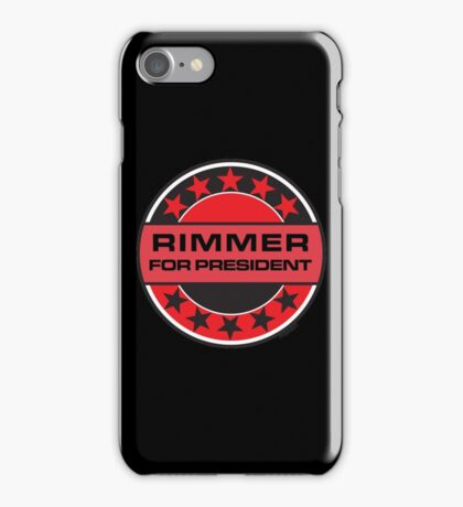 RIMMER FOR PRESIDENT [RED DWARF] iPhone Case/Skin
