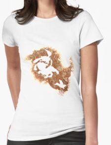 Duck Hunt Spirit Womens Fitted T-Shirt