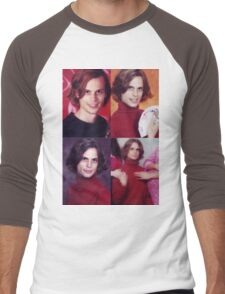matthew gray gubler in a turtleneck Men's Baseball ¾ T-Shirt