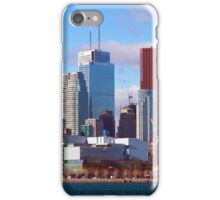 Downtown Toronto From The Docks iPhone Case/Skin