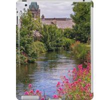Riverside Walk, Galway City, Ireland iPad Case/Skin