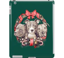 It's a Pit Bull Christmas iPad Case/Skin