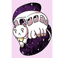 Puppycat Bus Photographic Print