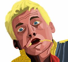 Joffrey Dying a Horrible and Painful Death by femmedoe