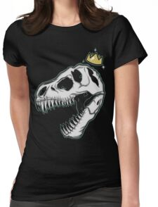 Dinosaur Royalty Womens Fitted T-Shirt