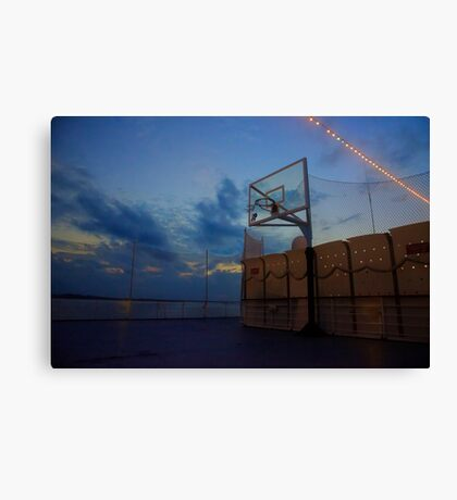 Waiting for Player Canvas Print