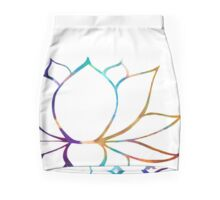 The Zen Lotus Mini Skirt