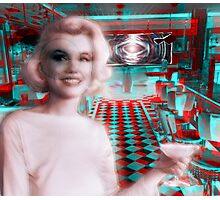Marilyn in Wonderland Photographic Print