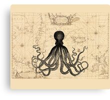 The Kraken Is All Canvas Print