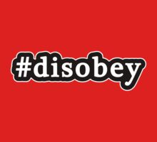 Disobey - Hashtag - Black & White Kids Clothes
