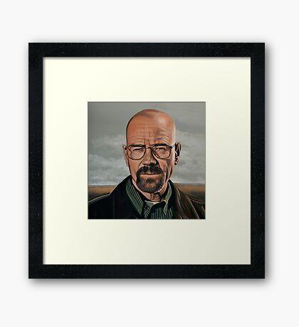 Walter White in Breaking Bad Framed Print