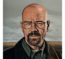 Walter White in Breaking Bad Photographic Print