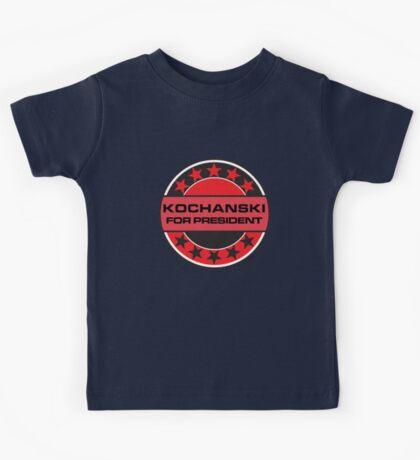 KOCHANSKI FOR PRESIDENT [RED DWARF] Kids Tee
