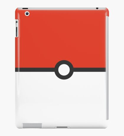 Minimalist Pokeball iPad Case/Skin
