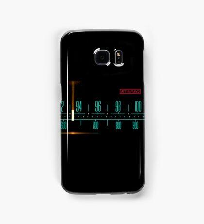 Vintage Stereo Tuner Dial Samsung Galaxy Case/Skin