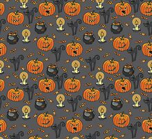 Halloween pattern. by Tatiakost
