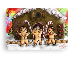 Hannibal - Gingerbread house Canvas Print