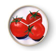 Cherry Tomatoes Clock
