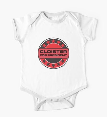 CLOISTER FOR PRESIDENT [RED DWARF] One Piece - Short Sleeve