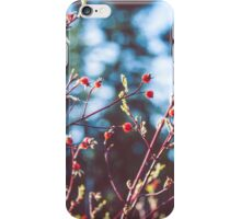 Berries At The Lake iPhone Case/Skin
