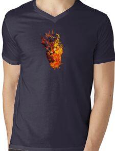I Will Burn You - Text Edition Mens V-Neck T-Shirt