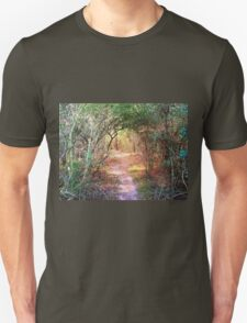 Enchanted Walkway (Bonus Image in The Floral Collection) Unisex T-Shirt