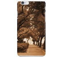 Covered Sidewalk iPhone Case/Skin