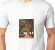 Covered Sidewalk Unisex T-Shirt