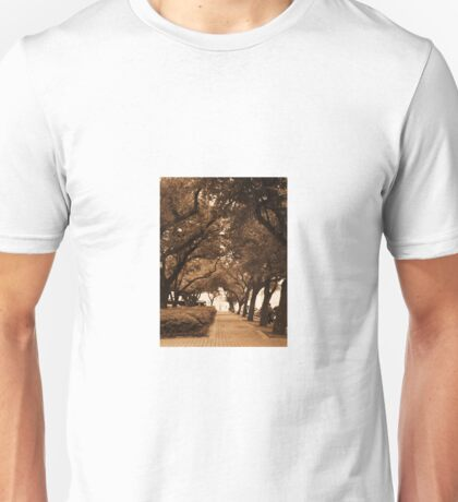 Covered Sidewalk Unisex T-Shirt