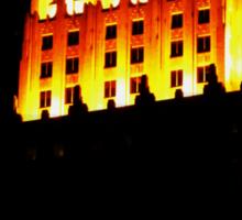Golden Night Sticker