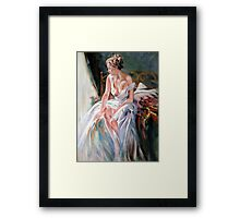 morning breeze after Pino Framed Print