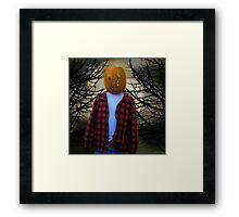 Tears From The Pumpkin Man  Framed Print