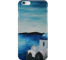 Santorini Greece View From Oia To Caldera iPhone Case/Skin