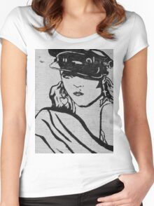Rock Star Wall Women's Fitted Scoop T-Shirt