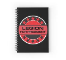 LEGION FOR PRESIDENT [RED DWARF] Spiral Notebook