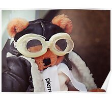 Teddy Pierre The Aviator Poster