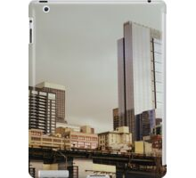 seattle cityscape iPad Case/Skin