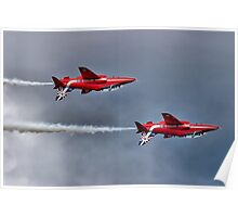 The Red Arrows Mirror Pass - Dunsfold 2014 Poster