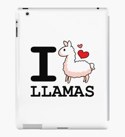 I Llama Llamas iPad Case/Skin
