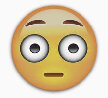Flushed Face Emoji by emojiprints